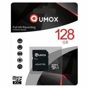 QUMOX 128GB MICRO SD MEMORY CARD CLASS 10 UHS-I 128 GB SPEICHERKARTE R MK
