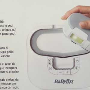 Babyliss hpl Laser gerät  G900E Haarentferner Epilierer Flash DEPILATOR