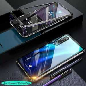 Hülle Huawei P30 / P30Pro / P30lite / 360° Magnet Cover Handy Schutz Case Tasche