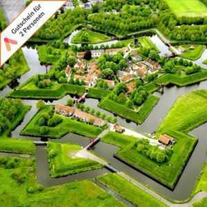 Kurzreise Holland Groningen Stadskanaal 4 Tage im 4 Sterne Hotel für 2 Personen
