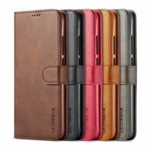 Für Xiaomi Redmi Note 7 Magnetisch Leder Etui Flip Hülle Handy Schutz