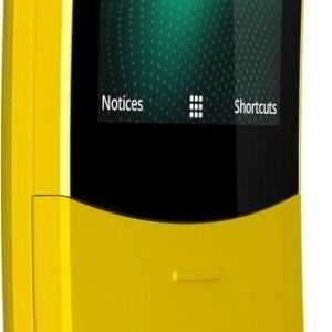 Nokia 8110 4G Gelb DUAL SIM 2MP Slider-Handy Gebogenes Display...