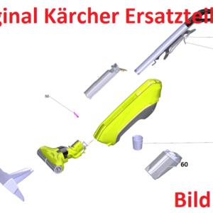 Kärcher FC 5 Original Ersatzteile für Hartbodenreiniger 1.055-500 Kein No-Name