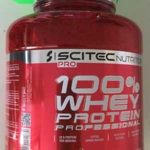 (16,34€/kg)Scitec Nutrition 100%Whey Protein Professional 2350g m.Shaker