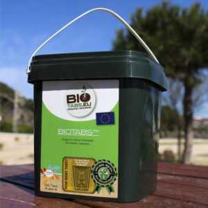 BioTabs 100 organische Düngetabletten für Wuchs und Blüte Düngetabs Düngertabs