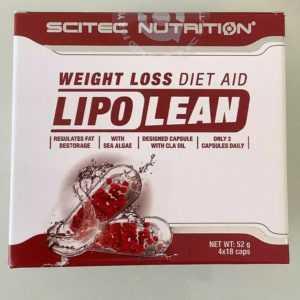 (57,31€/100g)Scitec Nutrition Lipo Lean Diät Gewichtsred.Diet Aid 2x36 Caps(52g)