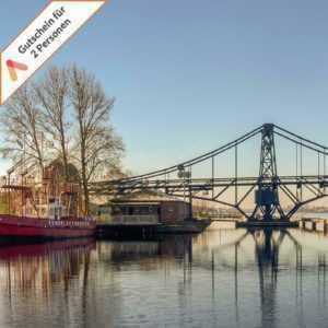 Kurzreise Wilhelmshaven Nordsee 3 Tage für 2 Personen Romantik Hotel Gutschein