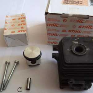 Original STIHL 4140 FS 38 45 46 55 KM MM 55 Kolben + Zylinder Freischneider NEU