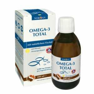 Norsan Omega-3 Total 200 ml EPA DPA DHA Vitamin E Fischöl Fettsäuren hochdosiert