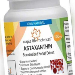 Astaxanthin Extrakt Kapseln Anti oxidationsmittel,Anti aging Verbessern