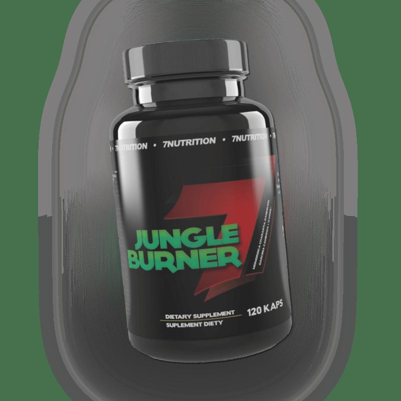 7NUTRITION Jungle Burner 120 Kapseln - Abnehmen - Diät - Thermoburner + BONUS