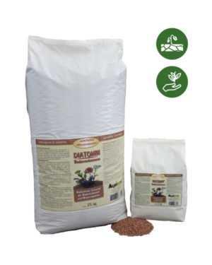 DIATOMIN Bodenverbesserer als Granulat - 25 kg - speichert Wasser und Nährstoffe
