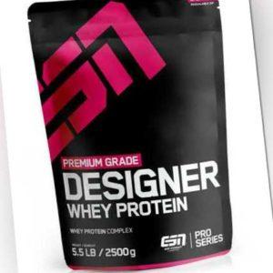 ESN Designer Whey Protein - 2500g - Direkt vom Hersteller -Premium Eiweiß Pulver