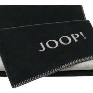 JOOP! Melange Doubleface Wohn- Kuscheldecke 150x200