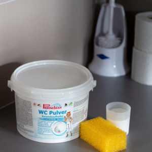 neu WC-Pulver mit Keramikaufheller