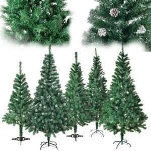 Künstlicher Weihnachtsbaum Christbaum Kunstbaum Tannenbaum Deko Juskys®