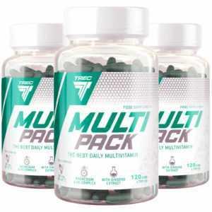Trec Nutrition MULTIPACK - Mulivitamin & Multimineral Nahrungsergänzungsmittel