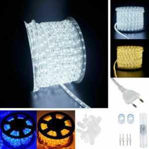 2-100m LED Lichterschlauch Lichtschlauch Schlauch Lichterkette Lampe Außen/Innen; EEK A+
