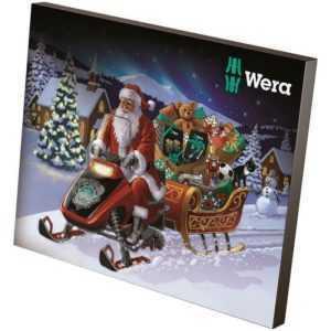 Wera Adventskalender 2019 Schraubendreher Werkzeugtasche Bitset 10 Jahre Edition
