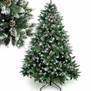 künstlicher Weihnachtsbaum Kunstbaum Tannenbaum Christbaum+ Metall-Ständer PVC