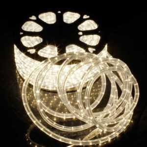 2-50m LED Lichterschlauch Lichtschlauch Warmweiß Lichterkette Außen/Innen IP65; EEK A++