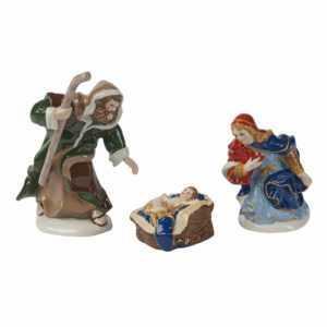 Villeroy & Boch Nativity Krippenfiguren Heilige Familie Weihnachtsdeko Deko