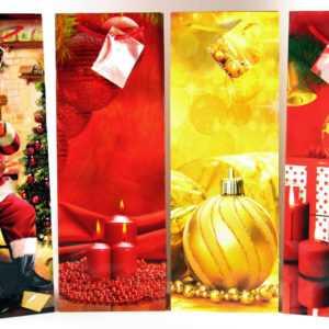 Geschenktüten 96 Stk Flaschentüte Flaschenbeutel Weihnachten Weihnachtstüte 752