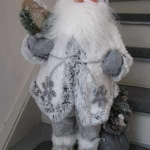 Weihnachtsmann groß 60cm Nikolaus Markenware Advent Deko Weihnachten Versandfrei