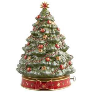 VILLEROY & BOCH Toy's Delight Weihnachtsbaum mit Spieluhr Weihnachtsdeko 33 cm