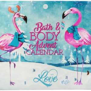 XXL Adventskalender FLAMINGO LOVE Frauen Bad & Körperpflege Weihnachtskalender