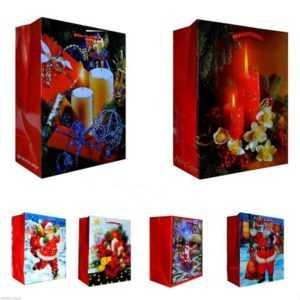 12/24/48 mittel Weihnachtstüten Geschenktüten Weihnachten Taschen xxx 1009 BA