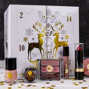 Beauty Würfel Adventskalender Für Frauen Mit 24 Make-Up Kosmetik Accessories