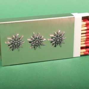 """Kamin-Zündholzhalter """"Edelweiß"""" Deco Homelove Dekoration Tischedekoration"""