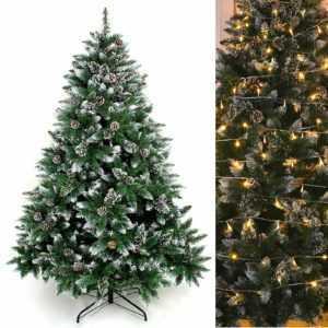 Künstlicher Weihnachtsbaum Tannenbaum Christbaum LED Lichterkette Weihnachten