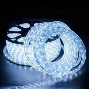 LED Lichtschlauch Lichterschlauch Lichterkette Innen/Aussen Schlauch Leiste 6-50