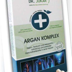 ORIGINAL Argan Komplex Kapseln - Arganöl, Hyaluron, Astaxanthin, SpinosaMAX