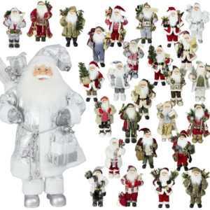 Deko Weihnachtsmann Figur 60cm Nikolaus Santa Claus Weihnachtsdeko Weihnachten