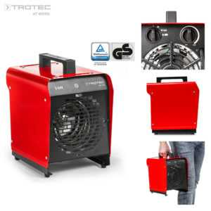 TROTEC TDS 19 E Elektroheizer Heizgerät Heizlüfter Bauheizer Zeltheizung 3 kW