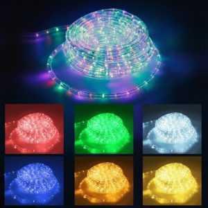 LED Lichtschlauch Lichterschlauch Lichterkette Innen/Aussen IP44 10m/20m/30m/50m; EEK A+++