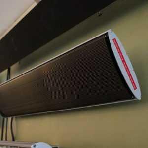 Dunkelstrahler 1800 Watt Heizstrahler mit Fernbedienung Terrassen Infrarot