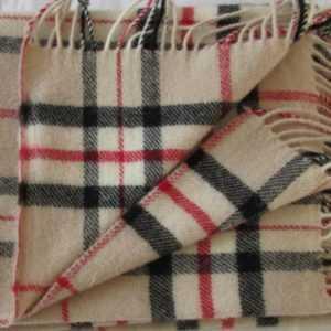 Decke Sofadecke Wolldecke Wollplaid Tagesdecke Überwurf 140x205