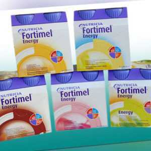 Fortimel Energy Trinknahrung 8 x 4 x 200 ml von Nutricia / Biosorb / Pfrimmer