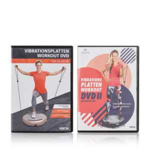 neu Vibrationsplatten Workout DVD Set