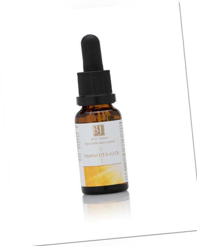 neu Vitamin D3 & K2 Öl