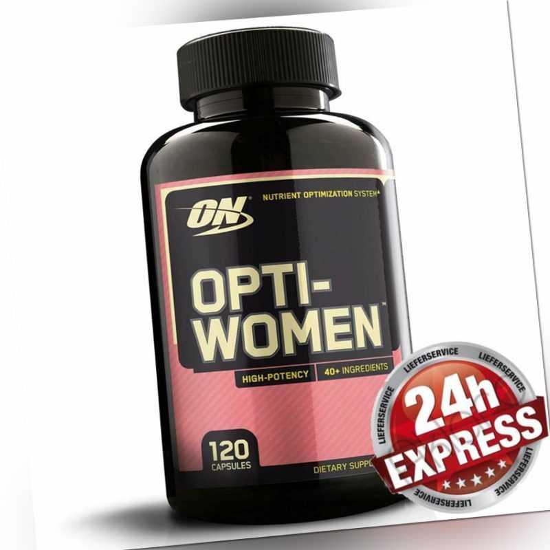 Optimum Nutrition Opti-Women, OptiWomen Damen Multivitamin, 120 Kapseln