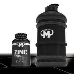 11,90€/100g Mammut Zink 240 Tabletten Tabs - 25 mg Zink pro Tablette + Gallone