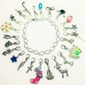 Adventskalender 24 Charm Füllung Weihnachten Mädchen Frauen Armband Schmuck SaWi