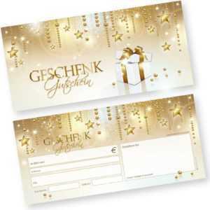 Geschenkgutscheine Weihnachten Stardreams Gewerbe Gastronomie Gutscheinkarten