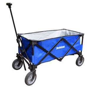 Yachticon Bollerwagen - faltbar Faltwagen für Einkauf Freizeitpark Kinder