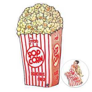 Kuscheldecke Popcorn Wohndecke Popcorntüte Sofadecke Popcorn-Tüte